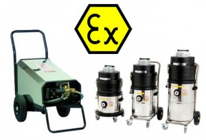 ATEX cleaning equipment