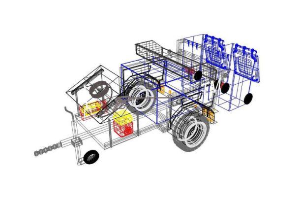 Wheelie bin line drawing of new developments