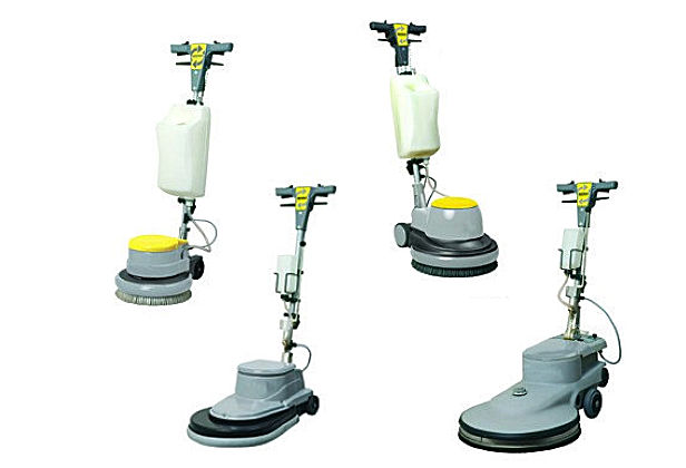 Morclean's range of single disc floor polishers