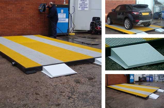 Permanent Vehicle Wash Pads Wash Platforms Morclean Ltd