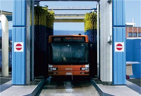 Drive Through Bus Wash