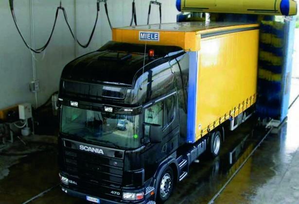 Moving Gantry Lorry Wash