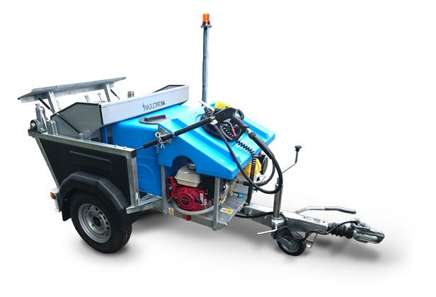 Petrol Powered Wheelie Bin Wash Custom And Custom Plus