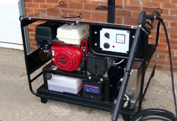 engine driven pressure wash