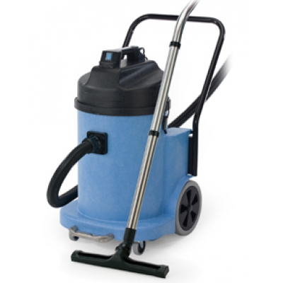 40 litre twinflo industrial wet and dry vacuum cleaner with silenced motor