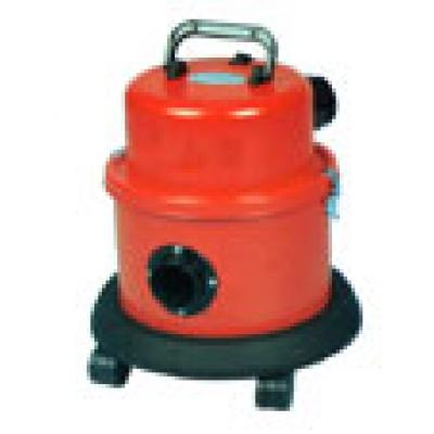 Small tough tub vacuum