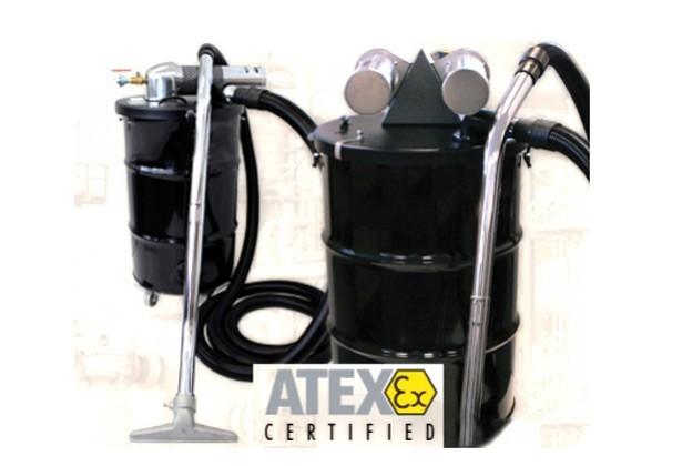 Airtech ATEX Air Operated Vacuum Cleaner