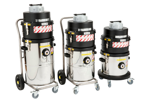 ATEX Electric Vacuums Cleaners Type H