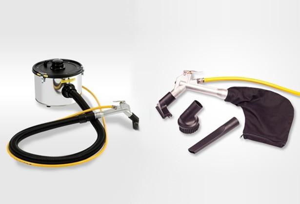 Air Powered ATEX Vacuum Cleaner