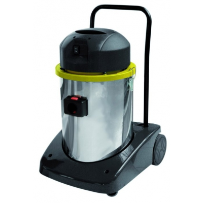pro 55 industrial wet and dry vacuum cleaner with silenced motor
