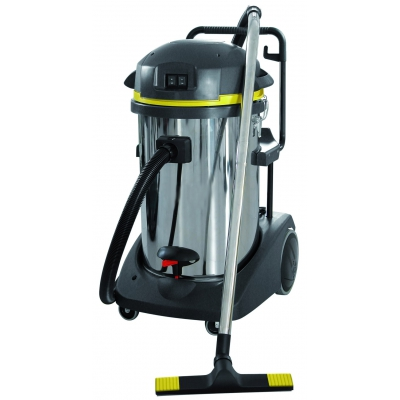 SM78 industrial wet and dry vacuum cleaner with silenced motor
