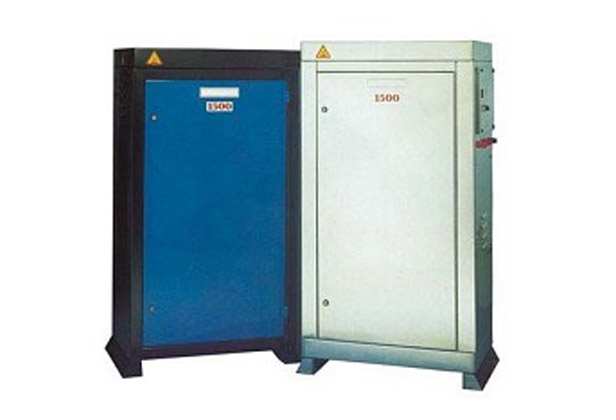 Static pressure washer cabinets
