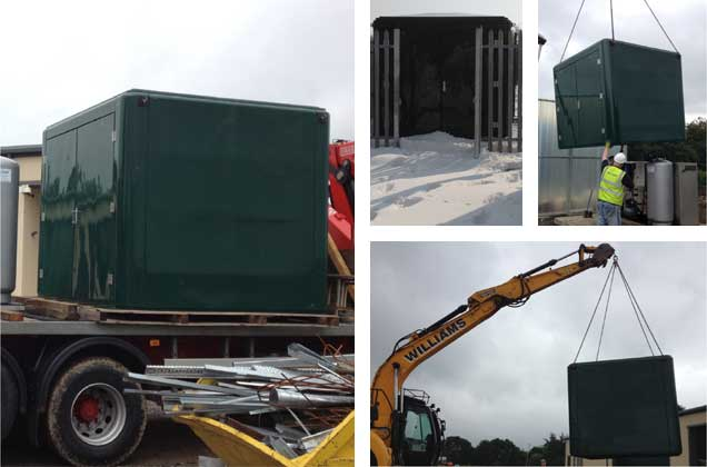 GRP Kiosks and GRP Housings