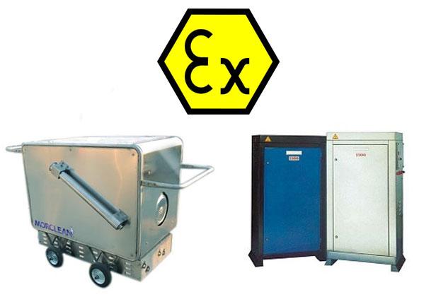 ATEX Pressure Washers