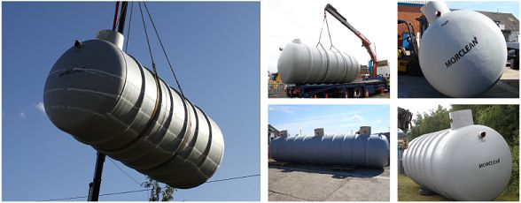 Interceptors Tanks for Vehicle Wash Installations