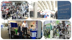 Morclean exhibits at the 2016 ISSA Show.
