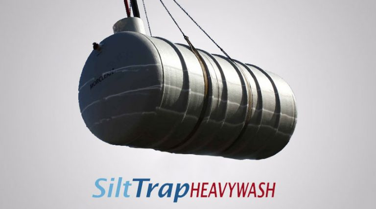 Heavy wash Silt Trap