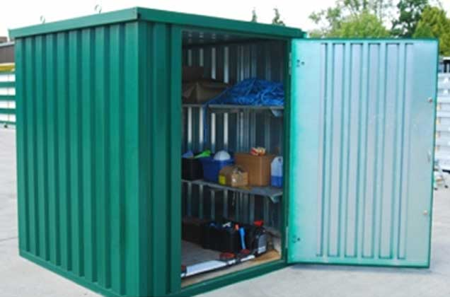 steel housing for storage