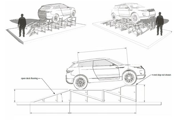 vehicle wash bay diagram