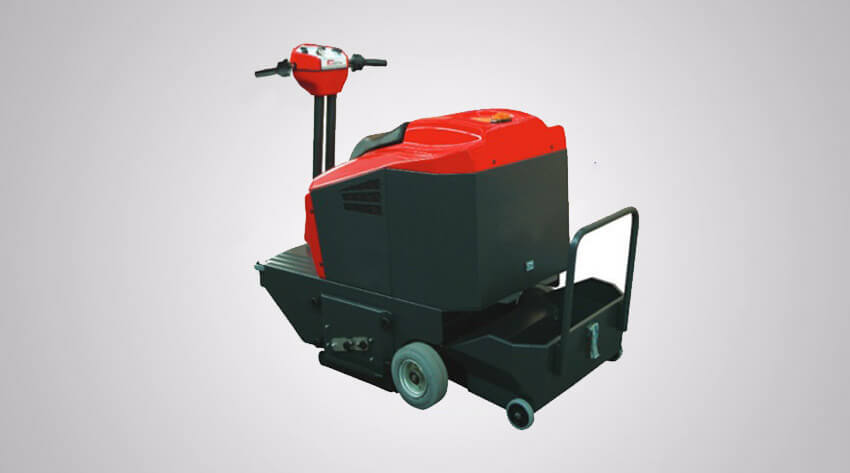 Ride On Compact Floor Sweeper