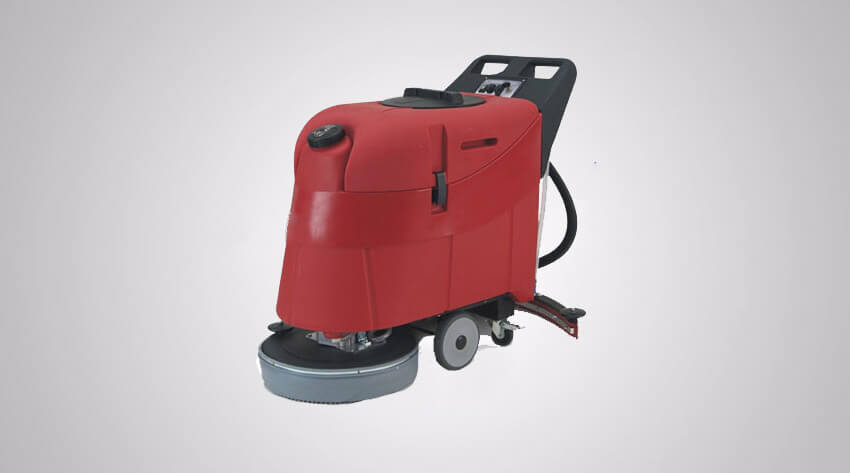 Commercial Battery Powered Pedestrian Scrubber Dryer