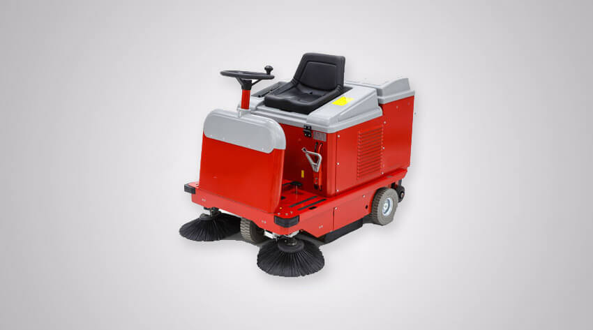 Industrial Ride On Floor Sweeper