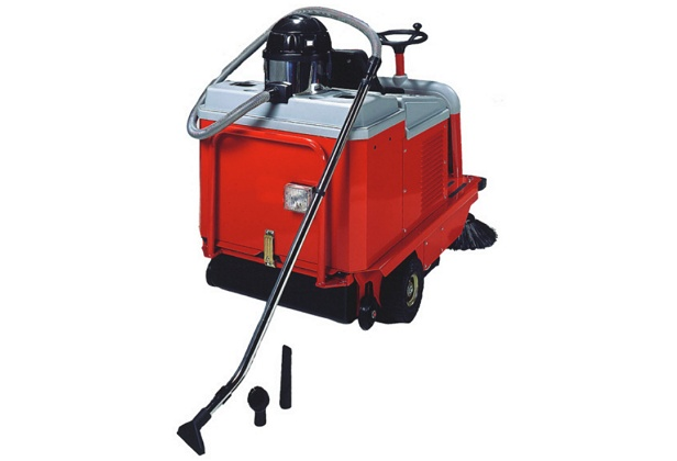 The optional vacuum cleaning kit that goes with the MSW70R industrial ride on floor sweeper