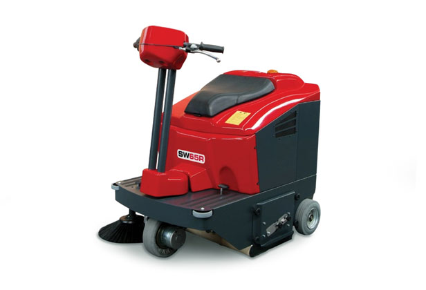 Compact Ride On Floor Sweeper MSW65R