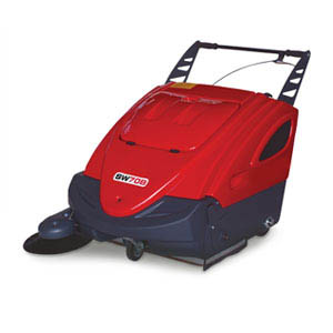 Battery powered pedestrian floor sweepers (510mm & 710mm brush width)