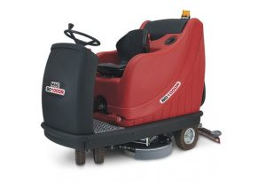 extra large ride on scrubber dryer
