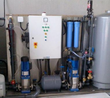 Morclean Aqua water recycling system