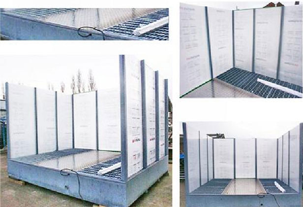 Wash Tanks With Screens Industrial Cleaning Equipment