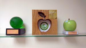 apple-awards-on-shelf