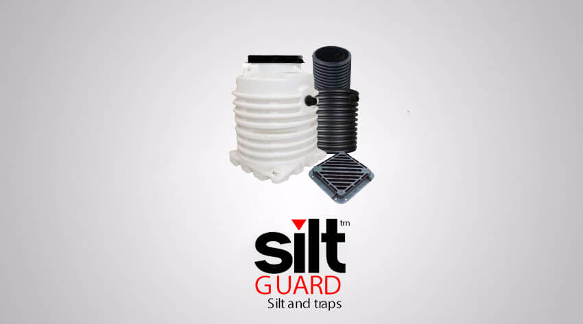 Silt traps for general use fitted with standard gratings