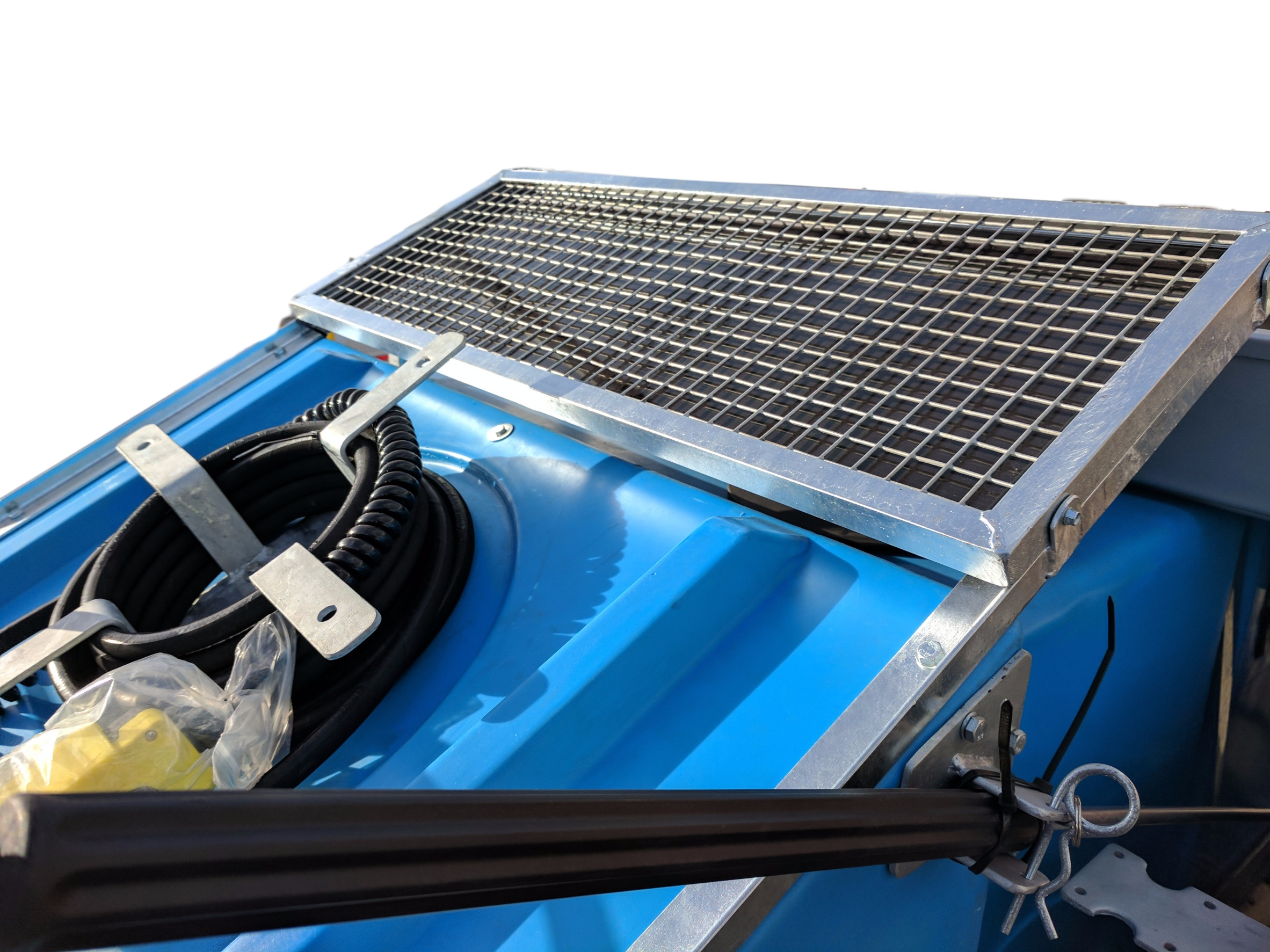 Solar Wheelie Bin Wash Machine Industrial Cleaning Equipment