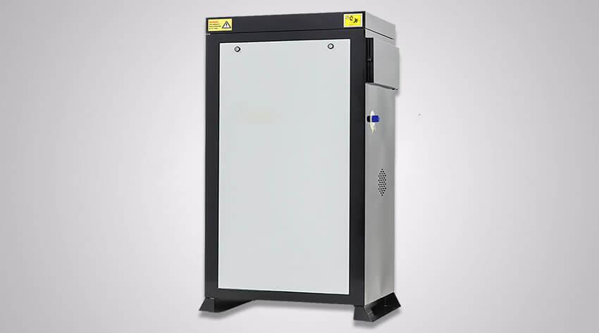 Static hot water pressure washer