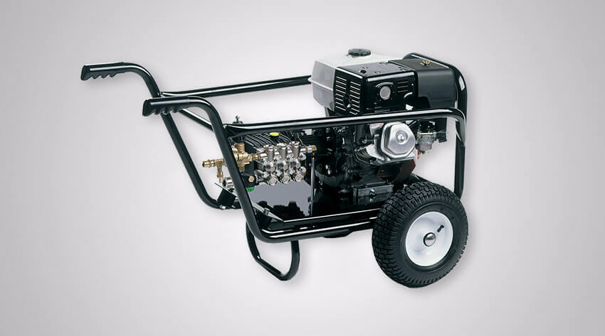 Mobile Cold Water Pressure Washer