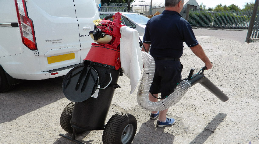Litter Collection Trolley Vacuum